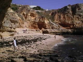 Paraiso Beach - Carvoeiro, Algarve, Portugal