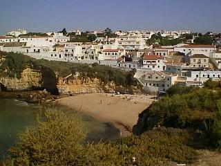 Carvoeiro is beautiful, especially when viewed from the hills on either side of the town.